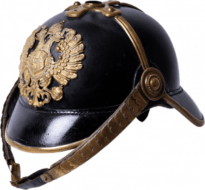 Helmet belonging to the uniform of the Imperial and Royal Gendarmerie