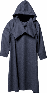 Replica of an piece of loden clothing